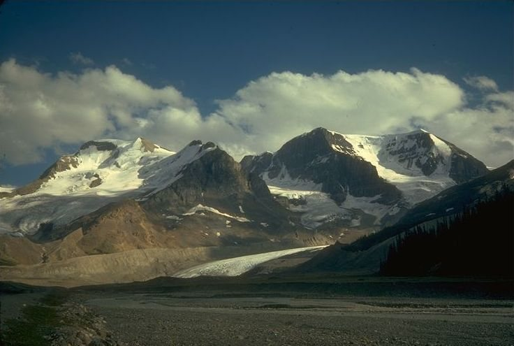Mt Athabasca  North Face, 1975
