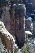 Rock Climbing Photo: Obvious