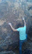 Rock Climbing Photo: High Tip