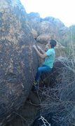Rock Climbing Photo: Rattle Shaker