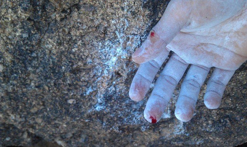 Rock Climbing Photo: Emerge