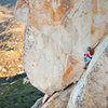 Climbers on P2 of Roshambo