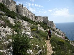 Rock Climbing Photo: Old walls at Cap Morgiou
