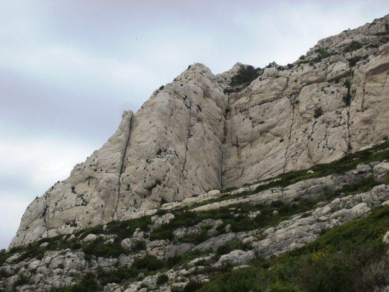 Rock Climbing Photo: The open book of Falaise du Renard