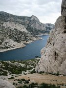 Rock Climbing Photo: View from Falaise du Renard
