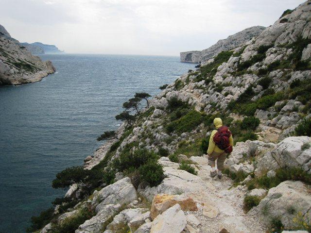 Trail to Falaise du Renard