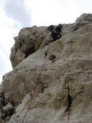 Rock Climbing Photo: Start of Arête des Raisins