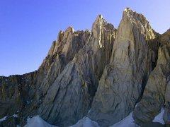 Rock Climbing Photo: Keeler Needle, Day Needle, Third Needle
