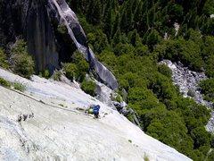 Rock Climbing Photo: money pitch