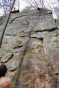 Rock Climbing Photo: Lead Climb Flash Age 9