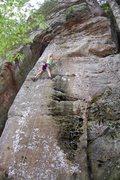 Rock Climbing Photo: Lead Climb Flash Age 10