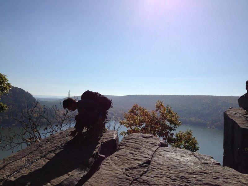 Rock Climbing Photo: profile2
