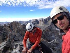 Rock Climbing Photo: Summit of Clyde Minarete.