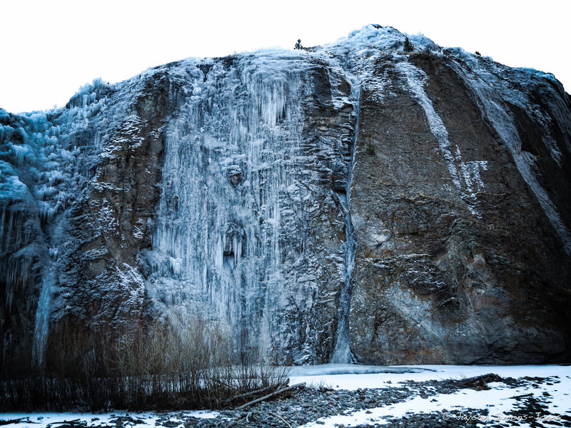 Rock Climbing Photo: Lake City Ice Park Conditions as of 12/9/12