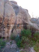 Rock Climbing Photo: William passing his Drug Test.