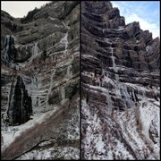 Rock Climbing Photo: Bridal Veil WI