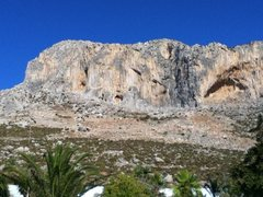 Rock Climbing Photo: View from Panormitis Studios rooftop pool