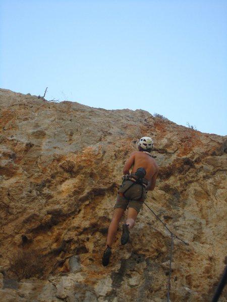 Rock Climbing Photo: Getting some beta Atena Wall