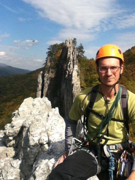 Rock Climbing Photo: South summit Seneca Rocks