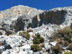 Rock Climbing Photo: Odyssey Sector view from trail