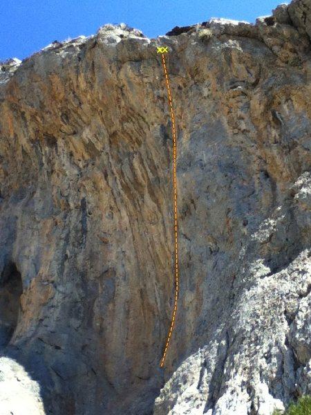 Rock Climbing Photo: Atena 5.10d