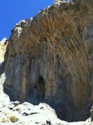 Rock Climbing Photo: Calipso 5.11d