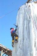 Rock Climbing Photo: Best ice of winter 2012.