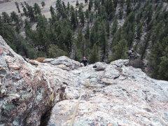 Rock Climbing Photo: The upper bit of WWW.