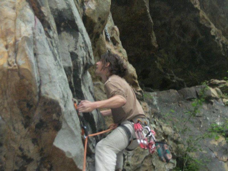 Rock Climbing Photo: Eric Williams on Stawberry Shortcake.