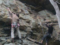 Rock Climbing Photo: Eric Williams on Strawberry Shortcake, Clay Carnes...
