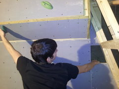 Rock Climbing Photo: Ledge, Undercling, or layback a huge footjam!