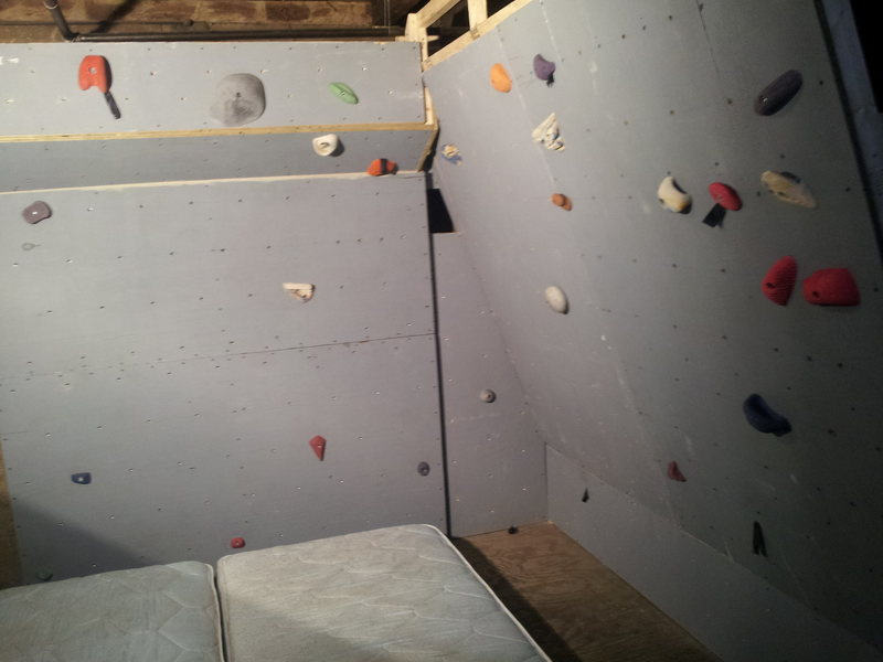 Rock Climbing Photo: Still need to order some holds