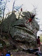 Rock Climbing Photo: Highball Arete '09