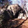 Plateau Boulder.