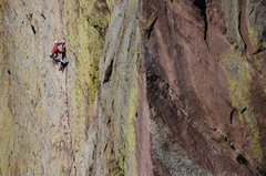 Rock Climbing Photo: Photo: Andy Mann. Cory Richards having a turn, DSL...