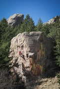 Rock Climbing Photo: Photo: Andy Mann. Kevin Jorgeson boulders it out a...