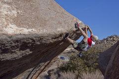Rock Climbing Photo: Ciotti heel hookin (v2) Whats the Beef