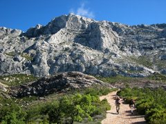 Rock Climbing Photo: Hiking in to Sainte Victoire