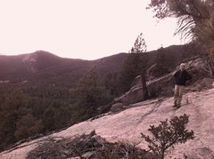 Rock Climbing Photo: at the base of the climbs on Skinner. South Platte...