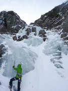 Rock Climbing Photo: King's Ravine in early December