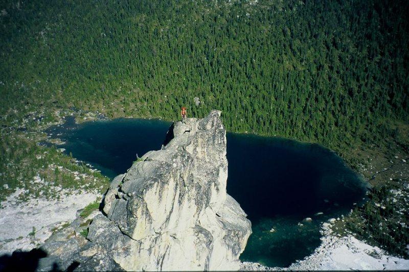 Rock Climbing Photo: 1st Ascent
