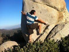 Rock Climbing Photo: Abner on Shin Splints