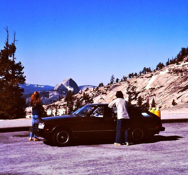 1979 gas crisis? - no problem, just strap 15 gallons to the back of your car and head to Yosemite.<br> <br> Leslie Miller and the late Mark Ward.