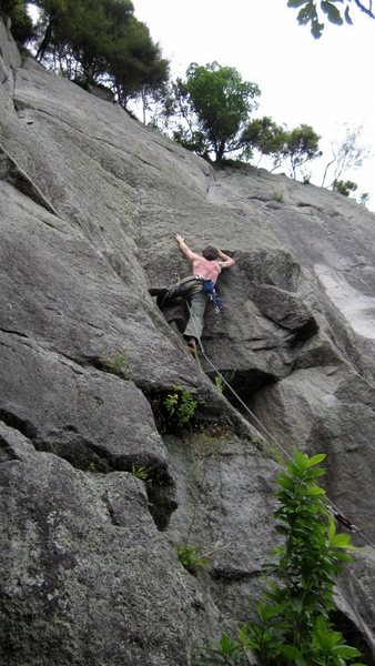Rock Climbing Photo: Gerard Tarr on the Lizard King (24)
