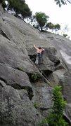 Rock Climbing Photo: Gerard Tarr on the Lizard King (24)