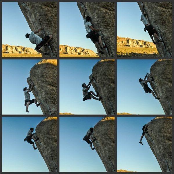 Rock Climbing Photo: Ryan Grant sending White Rastafian