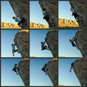 Rock Climbing Photo: Ryan Grant sending White Rastafian
