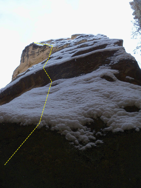 Rock Climbing Photo: Sorry, I can't remember if in fact this is a top r...