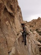 Rock Climbing Photo: leading my first 5.8 on gear- Butterfingers Make M...