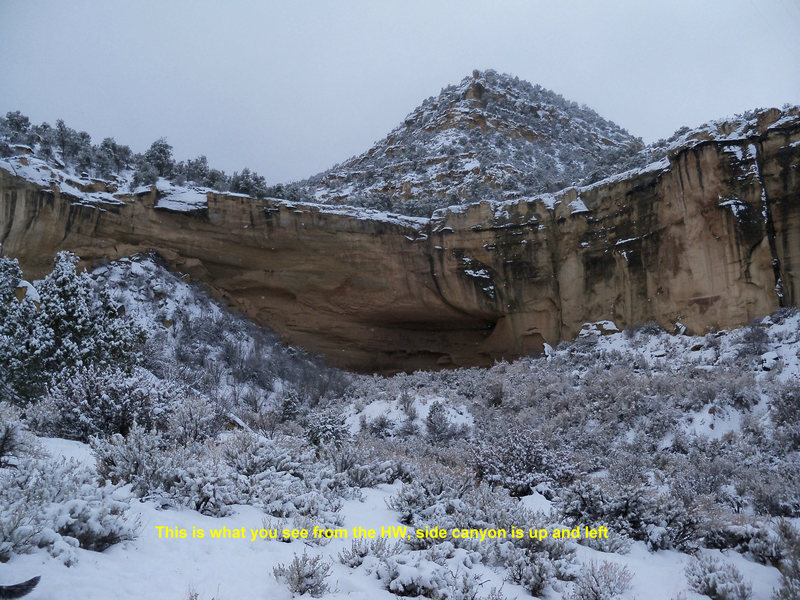 "Rock Climbing Photo: ""The"" canyon"